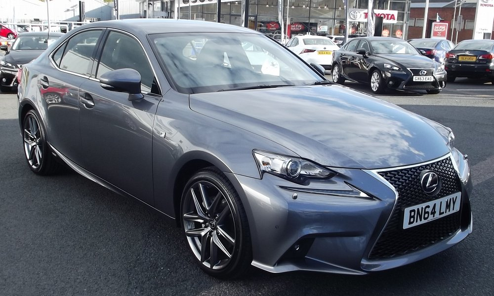 new lexus is 300h f sport cvc direct business and personal car leasing belfast northern ireland. Black Bedroom Furniture Sets. Home Design Ideas