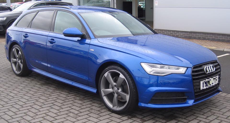 NEW AUDI A AVANT IN STUNNING SEPANG BLUE CVC Direct Business And - Car leasing ireland audi