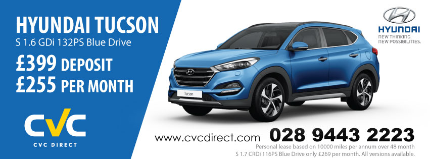 The New Hyundai Tucson Cvc Direct Business And Personal